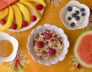 Muesli Bowl with Fruit