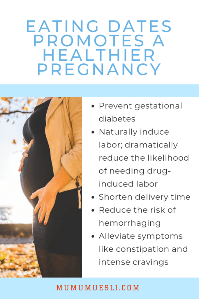 Health Benefits of Dates During Pregnancy