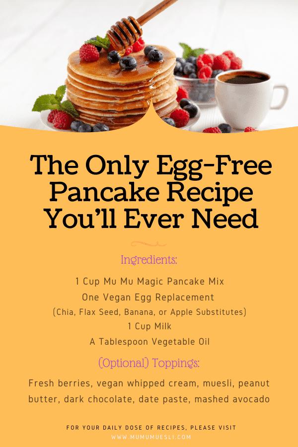Best Egg Free Pancake Mix