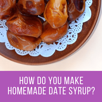Date Syrup Substitute for Healthy Sweetener
