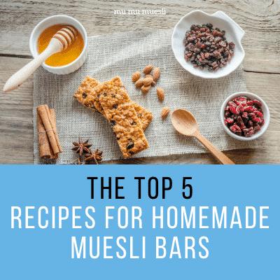 Muesli Cereal Bar Recipe