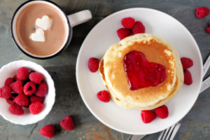 Zero Waste Valentine's Day Breakfast and Dessert