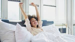 A person stretching thinking about Why you should eat breakfast
