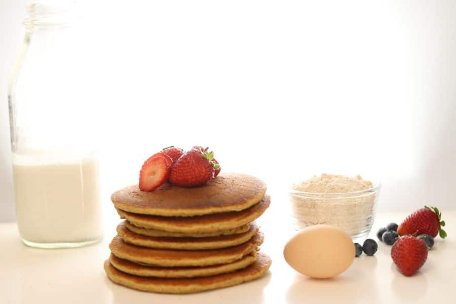 Pancakes that demonstrate Why you should eat breakfast